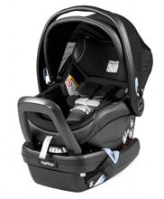 Peg Perego Primo Viaggio Nido 4/35 Infant Car Seat Licorice-Black Eco Leather