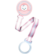 Razbaby Pacifier Holder- Girl