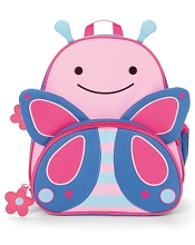 Skip Hop Zoo Lunchie Insulated Kids Lunch Bag, Butterfly