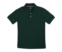 French Toast 60% Off Only $4.00 Skinny Girl Polo in Hunter Green