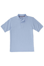 French Toast 60% Off Only $4.00 Skinny Girl Polo in Light Blue