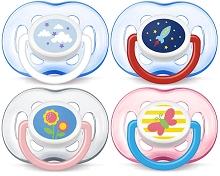 Avent Freeflow Pacifier 18 Months  BPA Free, 2 Pack