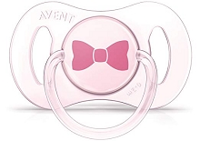 Avent Newborn Pacifier, 0-2 Months, Pink/Yellow, 2 Pack,