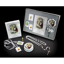 San Francis 1st Communion Gift Set - Girl