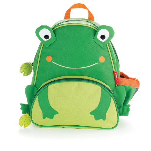 skip hop zoo pack little kid backpack frog ideal baby