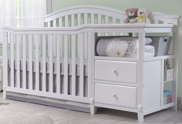 Crib With Changer Home Ideas