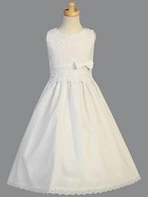 Lito Childrenswear Communion Dress  White