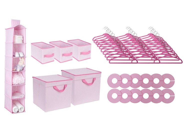 Amazing Delta 48 Piece Nursery Closet Organizer Pink Pdpeps Interior Chair Design Pdpepsorg