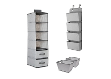 Delta 3 Pieces Complete Nursery Organizer, Dove Grey