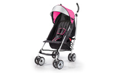 Summer Infant 3D lite™ Convenience Stroller, Hibiscus Pink