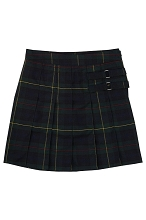 French Toast 50% Off  School Uniform Girl Skort, Hunter Green, Size 4