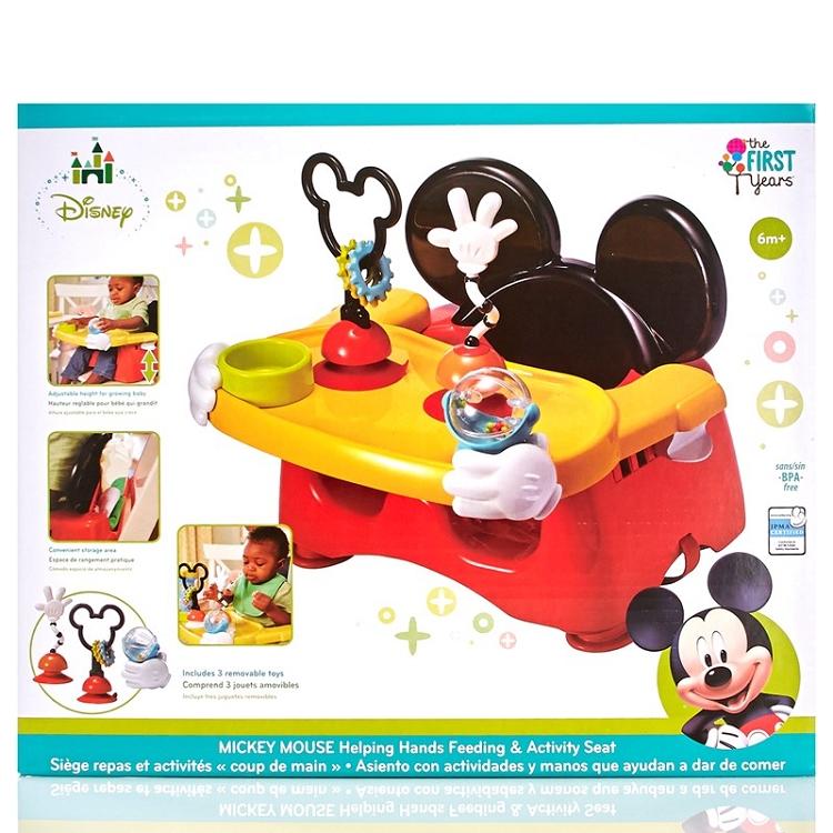 First Years Disney MIckey Helping Hand Feeding Seat - Ideal Baby
