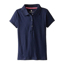 U.S Polo 50% Off School Uniform Girl, Navy