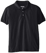 Genuine 50% Off School Uniform Polo Boy Black