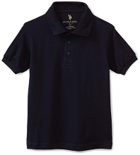 U.S Polo 50% Off  School Uniform Polo Boy Black