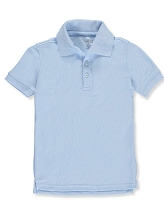 U.S Polo 50% Off School Uniform Polo Boy Light Blue