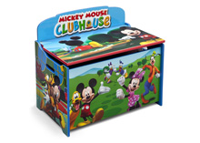 Delta Disney Mickey Deluxe Toy Box Multicolor