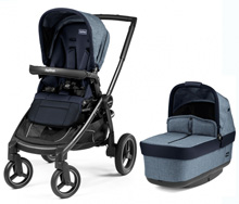 Peg Perego Book Team Stroller Horizon-Light Blue & Dark Blue