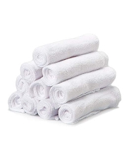 Frederic Lou Spasilk 10-Pack Washcloths White