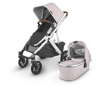 Uppababy 2020 Vista V2 Stroller Alice (Dusty Pink/Silver/Saddle Leather)