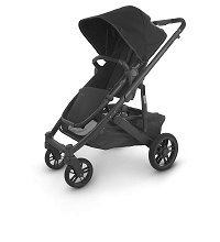 Uppababy Cruz V2 Stroller Jake (Charcoal/Carbon/Black Leather)