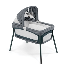 Chicco LullaGo Nest Portable Bassinet Poetic