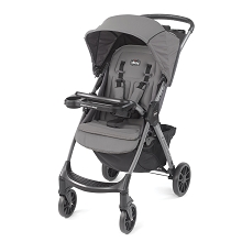 Chicco Mini Bravo Plus Lightweight Umbrella Stroller Graphite