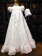 Will'beth Sweet Embroidery Christening Gown