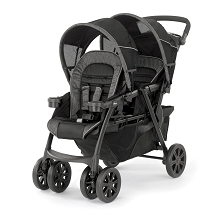 Chicco Cortina Together Double Stroller Minerale