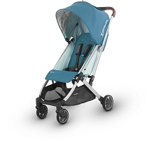 Uppababy MINU Stroller Ryan (Teal Mélange/Silver/Saddle Leather)