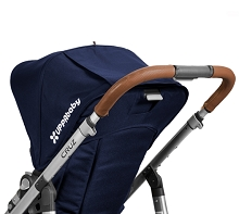 Uppababy Cruz Leather Handlebar Covers Saddle Fits Vista 2015