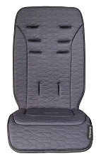 Uppababy Vista and Cruz Reversible Seat Liner-Reed (Denim/Cozy knit)
