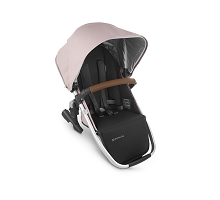 Uppababy RumbleSeat V2 Alice (Dusty Pink/Silver/Saddle Leather)