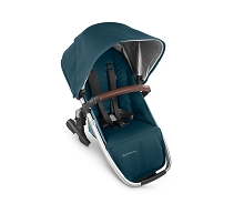 Uppababy RumbleSeat V2 Finn (Deep Sea/Silver/Chestnut Leather)