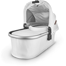 Uppababy Bassinet Bryce (White Marl/Silver)