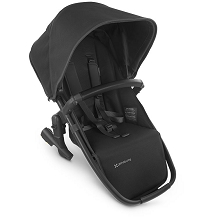 Uppababy RumbleSeat V2 Jake (Charcoal/Carbon/Black Leather)