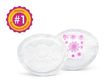 Medela Safe & Dry Ultra Thin Disposable Nursing Pads 120 CT
