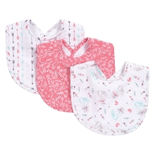 Trend Lab Fox and Feather Bib Set 3 Pack