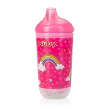 Nuby Light Up No Spill Insulated Sippy Cup 10 Ounce 6+ Months