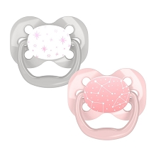 Dr. Brown's™ Pink Star Pacifiers, 2 Pack