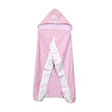 Just Born® Sail Boat Hooded Towel Blue