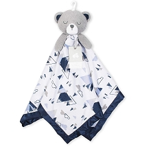 Just Born® Bear Security Blankie XL, Navy