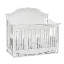 Dolce Babi Alessia Full Panel Convertible Crib Bright White
