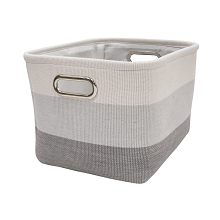 Lambs & Ivy Gray Ombre Storage Container