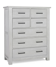 Docle Babi Lucca 7 Drawer Dresser, Sea Shell White