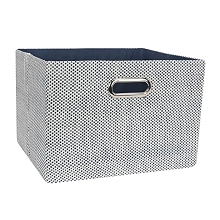 Lambs & Ivy Foldable Storage Container Blue