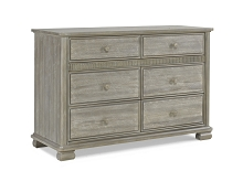 Bivona Florenza Double Dresser Side Mounted Soft Close in Dove Grey
