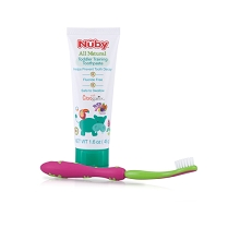 Nuby All Natural Toddler Trainer Toothpaste 1.6oz, 6M+