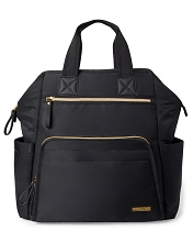 Skip Hop Mainframe Wide Open Diaper BackPack Black