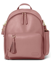 Skip Hop  Greenwich Simply Chic Backpack,Dusty Rose